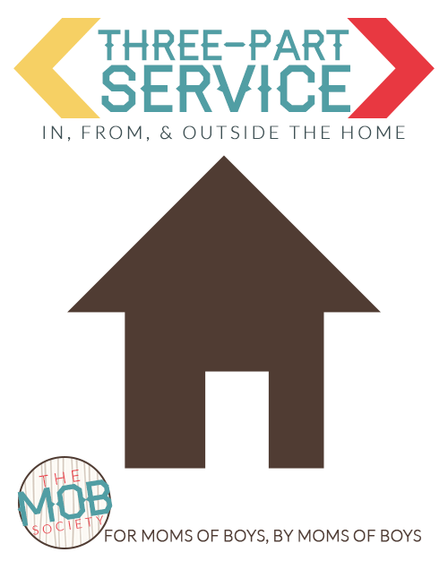 Three-Part Service: In, From, and Outside the Home via @BoyRaisers
