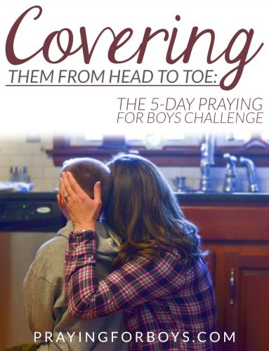 Join other mothers of boys as they spend 5 days praying for their boys from head to toe. Based on Ephesians 6:10-17 (the armor of God)