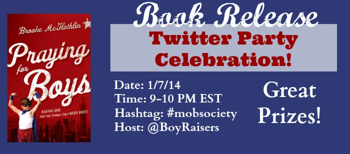 Join the MOB Society and Brooke McGlothlin as we celebrate the release of Praying for Boys!