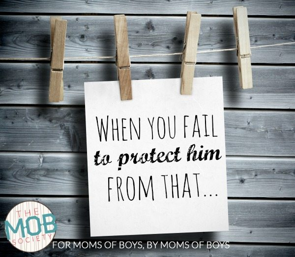 When you fail to protect him from that || themobsociety.com