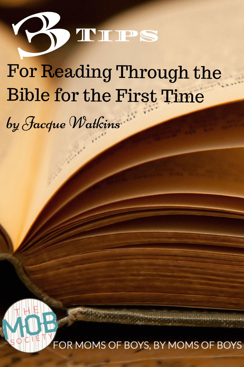 3 Tips to Studying the Bible