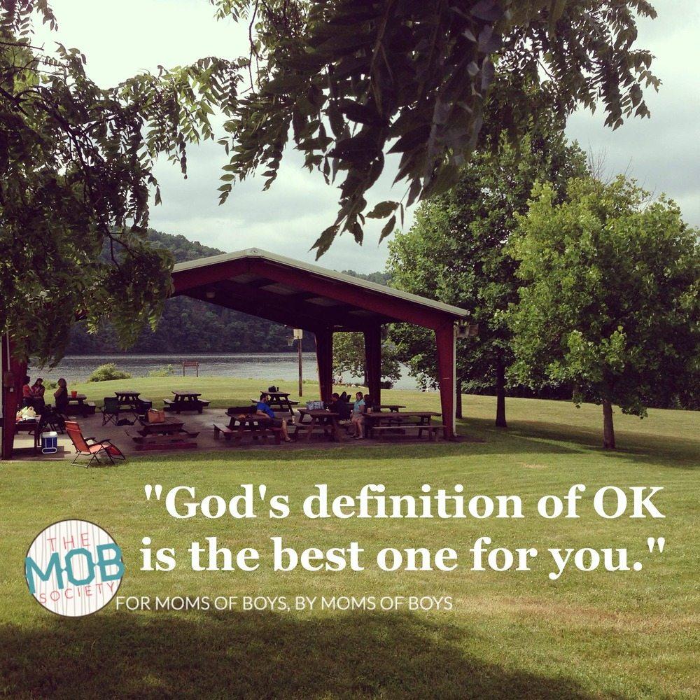 God's definition of OK
