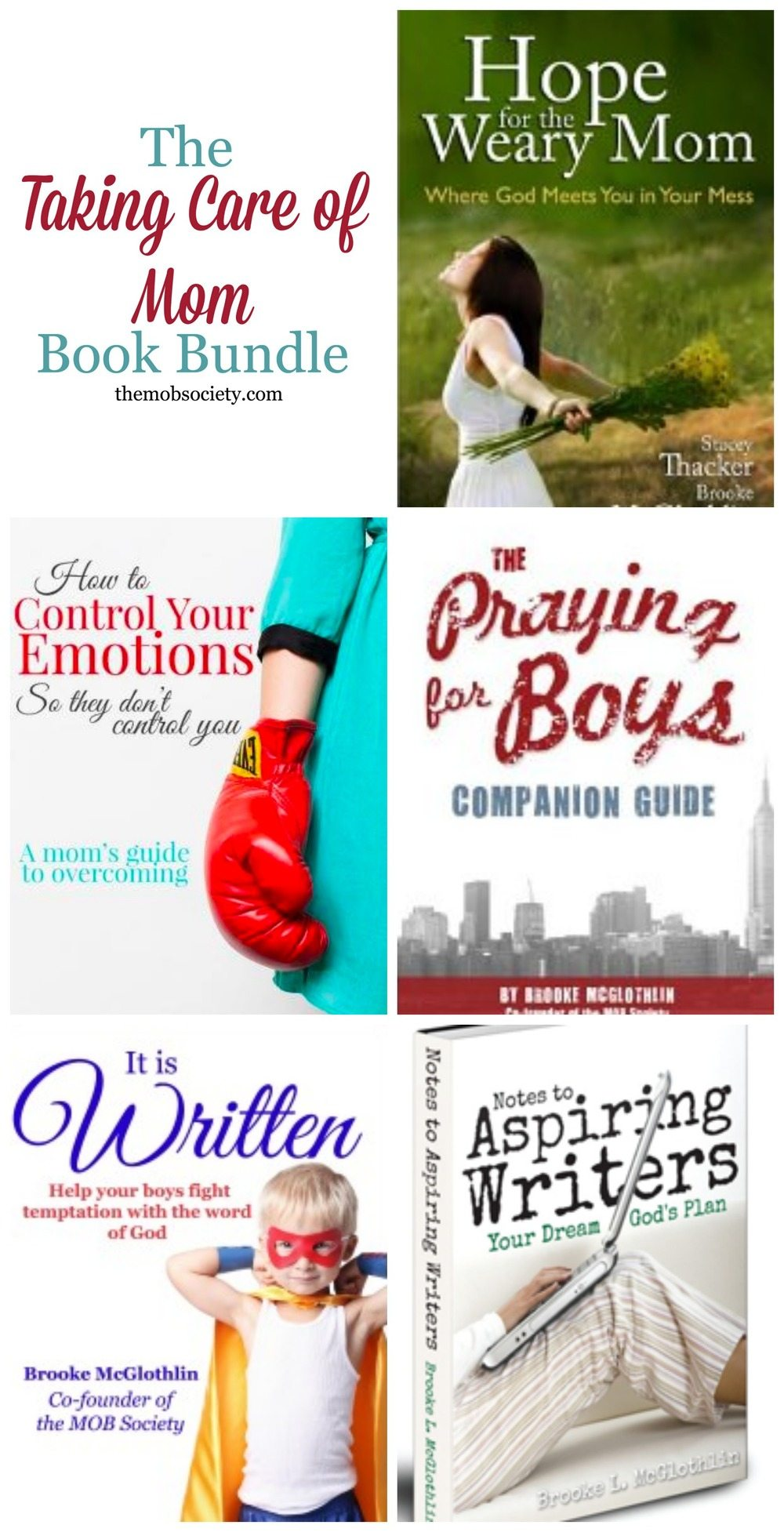 Grab ALL of Brooke McGlothlin's ebooks for 50% off! Limited time offer!