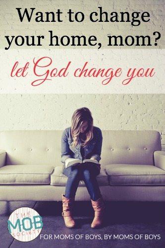 let God change you