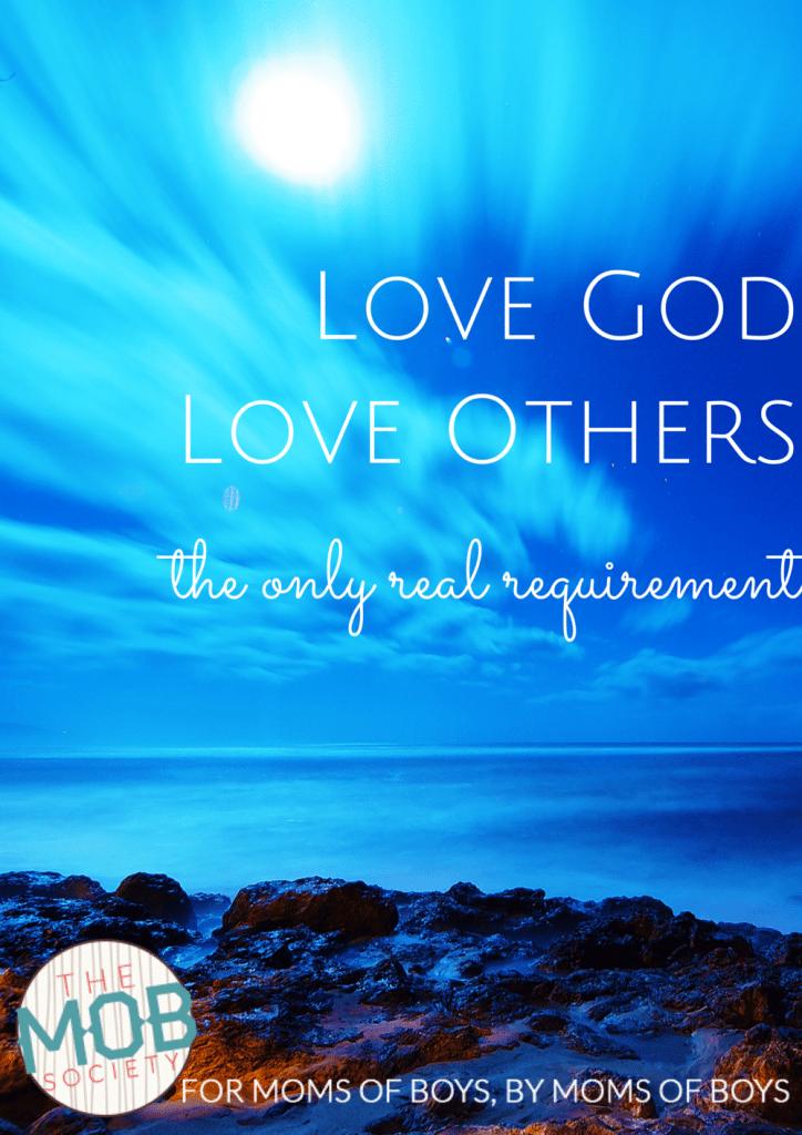 Love God Love Others M. Swanson