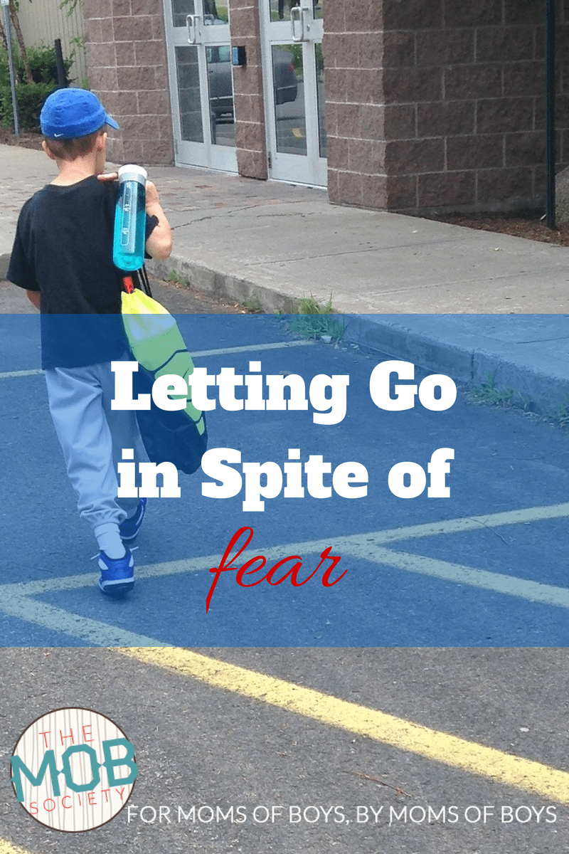 Letting Go in spite of Fear