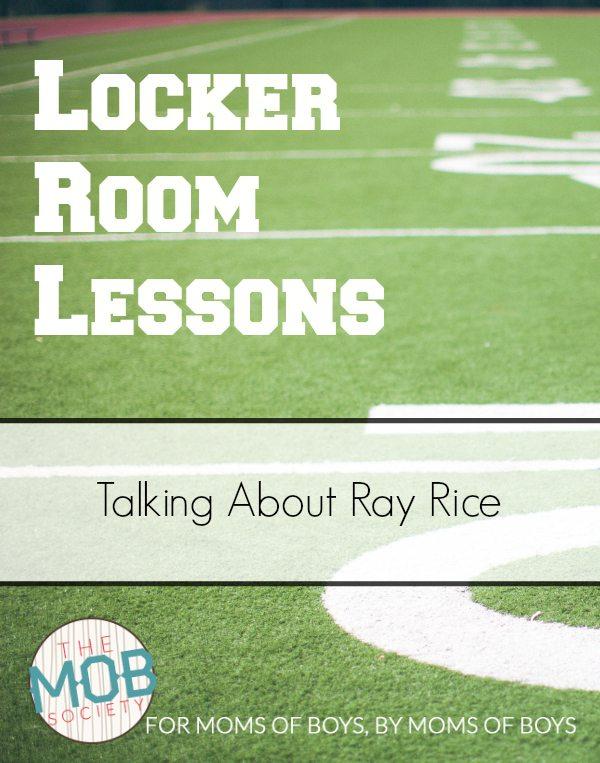 Locker Room Lessons Ray Rice