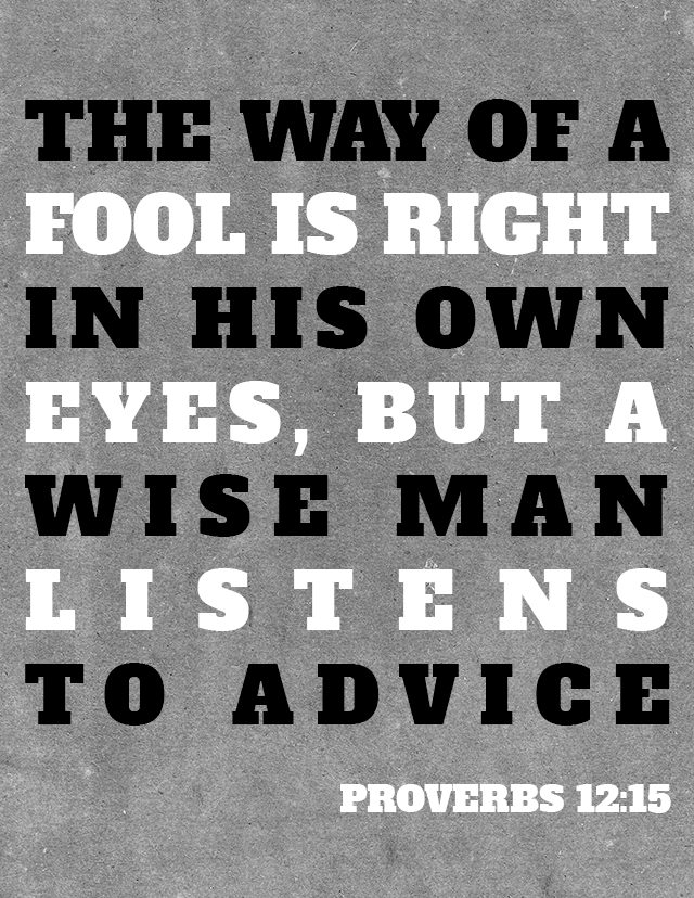 Proverbs 12 Printable via The MOB Society