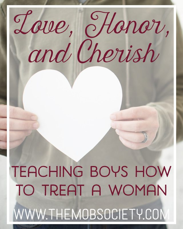 Love, Honor, and Cherish: Teaching Boys How to Treat a Woman via The MOB Society