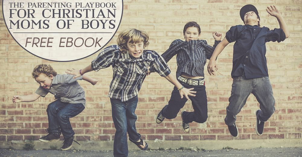 Raising Boys? Get this free ebook from the MOB Society with wit and wisdom from your favorite moms of boys!