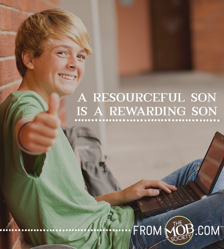Teaching Your Teens to be Resourceful via The MOB Society