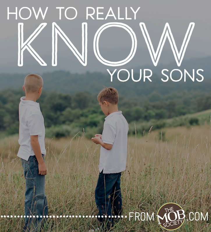How to Really KNOW Your Son (September Series)