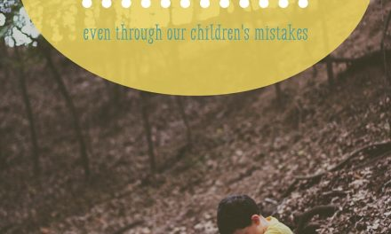 God Works out His Will (even through our children's mistakes)