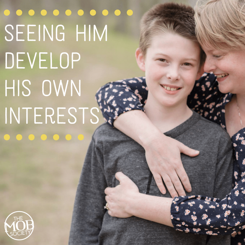 The Best of Being a Boy Mom: Seeing Him Develop His Own Interests - The MOB Society