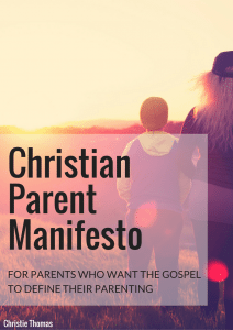 ChristianParent Manifestoa
