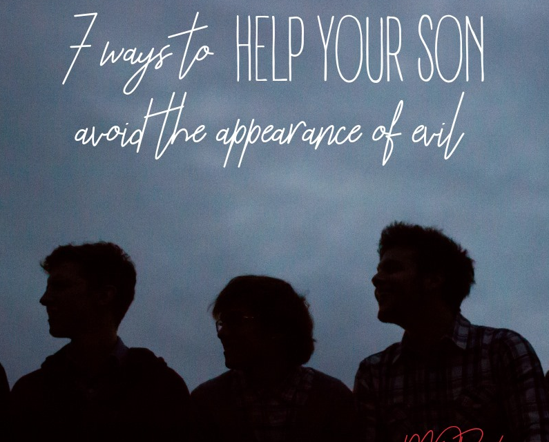 [MOB LIVE!] EPISODE #42: 7 Ways to Help Your Son Avoid the Appearance of Evil